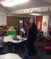 Guest readers for Kindergarteners