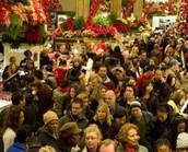 Crowded mall?