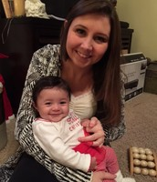 Daughter 20, and grand daughter 5 months