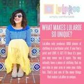 Why LuLaRoe?