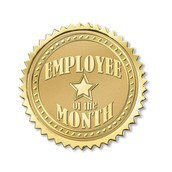 Anirban named Employee of the month