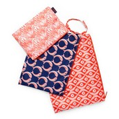 Set of 3 Zippy Pouches