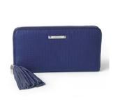 Mercer Wallet - BLUE WEAVE - SOLD