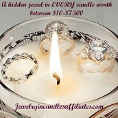 A hidden jewel in EVERY candle