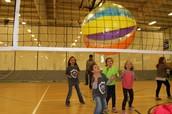 Beachball Volleyball