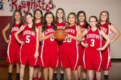 Girls B-Team Won Their Basketball Season