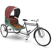 Bicycle rickshaws