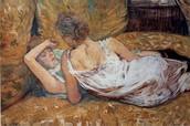 L'abbandono-le due amiche, Toulouse-Lautrec, 1895