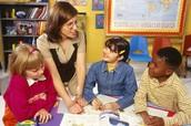 Teachers help kids learn to read