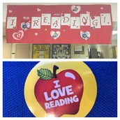 Valentine's Day = I Love Reading Day at Pillow!