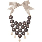 Casablanca bib necklace