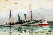1898- Germany began building a large modern navy