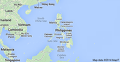 The Map of the Philippines
