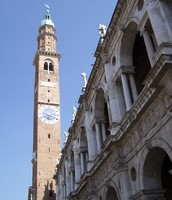 Clock tower known in Italy as the Torre Bissara