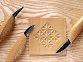 Геометрическая резьбы по древесине