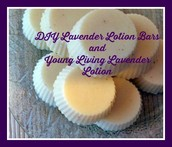 DIY Lavender Lotion Bars