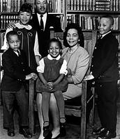 MLK's family