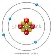 Beryllium in atom form