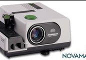 DECORATIVE AND ENJOYABLE SLIDE PROJECTOR