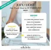 join & host
