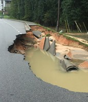 Roads Collapsing