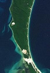 Location of Moreton Island