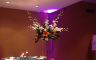 Orchid & Lily Centerpiece