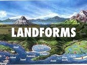 Key Idea: Topography of an area includes: