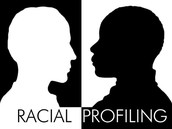 What is racial profiling? What age groups are targeted?