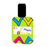 Aqua Zig-Zag