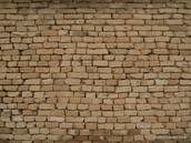Mud brick buildings