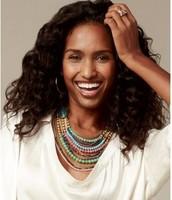 Zahara bib statement necklace