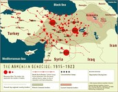 A map of all the Massacres
