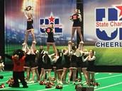 Cheerleaders Compete @  UTA