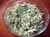 Coconut in Salad