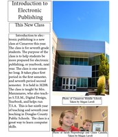 Introduction to Electronic Publishing: Page #1