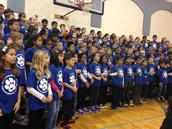 NW students perform at the Blue Ribbon Ceremony