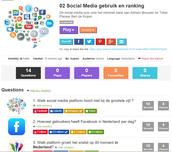Social Media gebruik en ranking