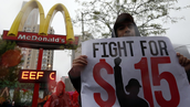 McDonald's Income inequality across North Amarica