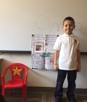 Tuesday's Star Student, Omer!
