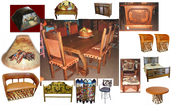 Wood Furniture in Oak, Teak and more......