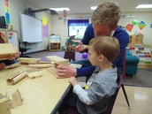Dads' ECFE class!