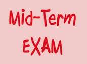 The Midterm Exam is around the corner.  So Let's Review Lesson 5