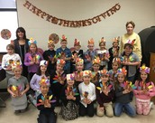 2nd grade - Thanksgiving Feast
