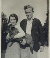 Vivien Leigh and Leigh Holman