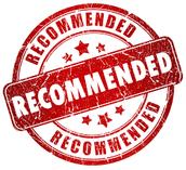 Reccomendation