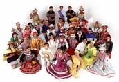 Diversidad de danzas y trajes