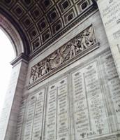 Intérieur l'Arc de Triomphe