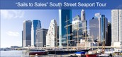 "Sails To Sales"" South Street Seaport Tour"