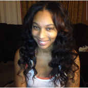 Full SewN Weave with Minimal Leave-out (Body Wave)